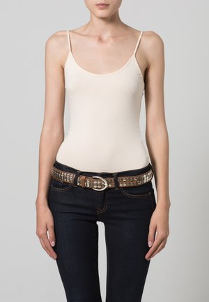 Braided belt - baileys