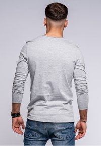 Jack & Jones - INFINITY  - Long sleeved top - light grey melange - 2