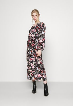 ONLDANIELLA CALF DRESS  - Skjortekjole - black