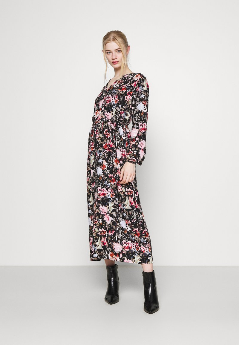 ONLY - ONLDANIELLA CALF DRESS  - Skjortekjole - black