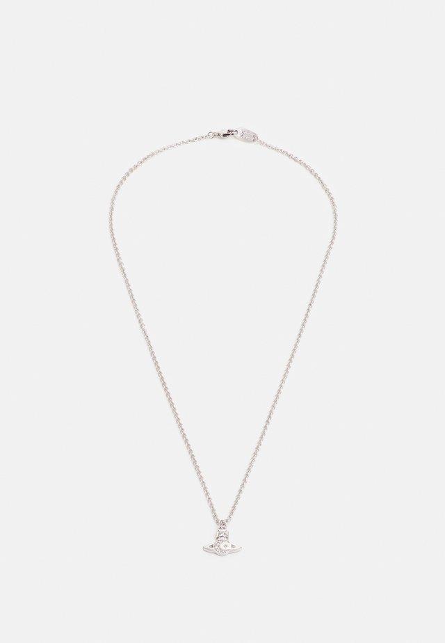 DEMETRIUS RELIEF PENDANT UNISEX - Necklace - silver-coloured