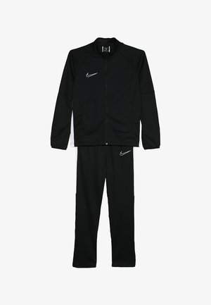 DRY ACADEMY SET - Tracksuit - black/white