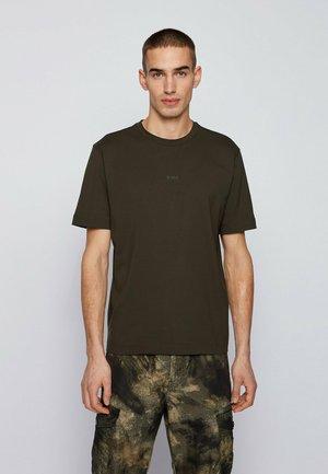 TCHUP - Basic T-shirt - open green