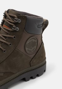 Palladium - PAMPA SHIELD WP+ LUX UNISEX - Lace-up ankle boots - major brown - 5