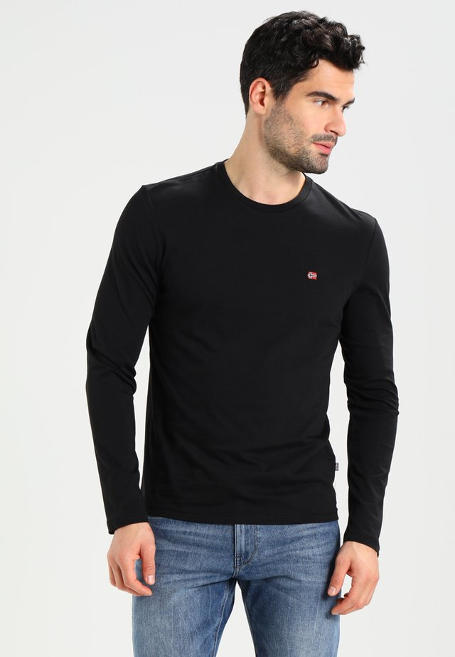 SENOS LS - Long sleeved top - black