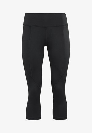 PAUL POGBA CAPRI WORKOUT READY SPEEDWICK REECYCLED 3/4 LEGGINGS - Legginsy - black