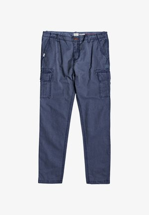 ICHACA - Cargo trousers - navy blazer