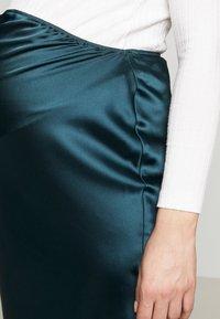 Topshop Maternity - MAXI - Pencil skirt - petrol - 4