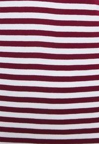 Esprit - STRIPE LONGSLEEVE - Maglietta a manica lunga - bordeaux red - 2