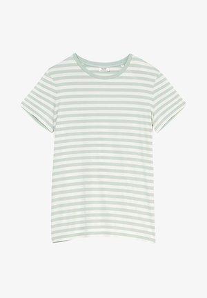 Print T-shirt - multi/light carib
