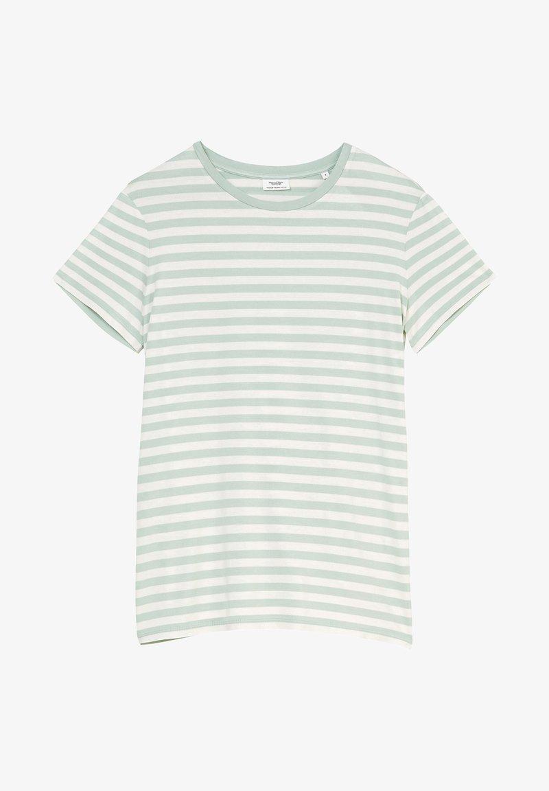 Marc O'Polo DENIM - Print T-shirt - multi/light carib