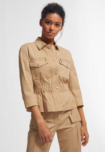 Summer jacket - sahara