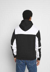 adidas Originals - CLASSICS HOODY - Hoodie - black/white - 2