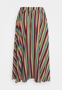 Glamorous Petite - STRIPE - A-line skirt - pink green - 1