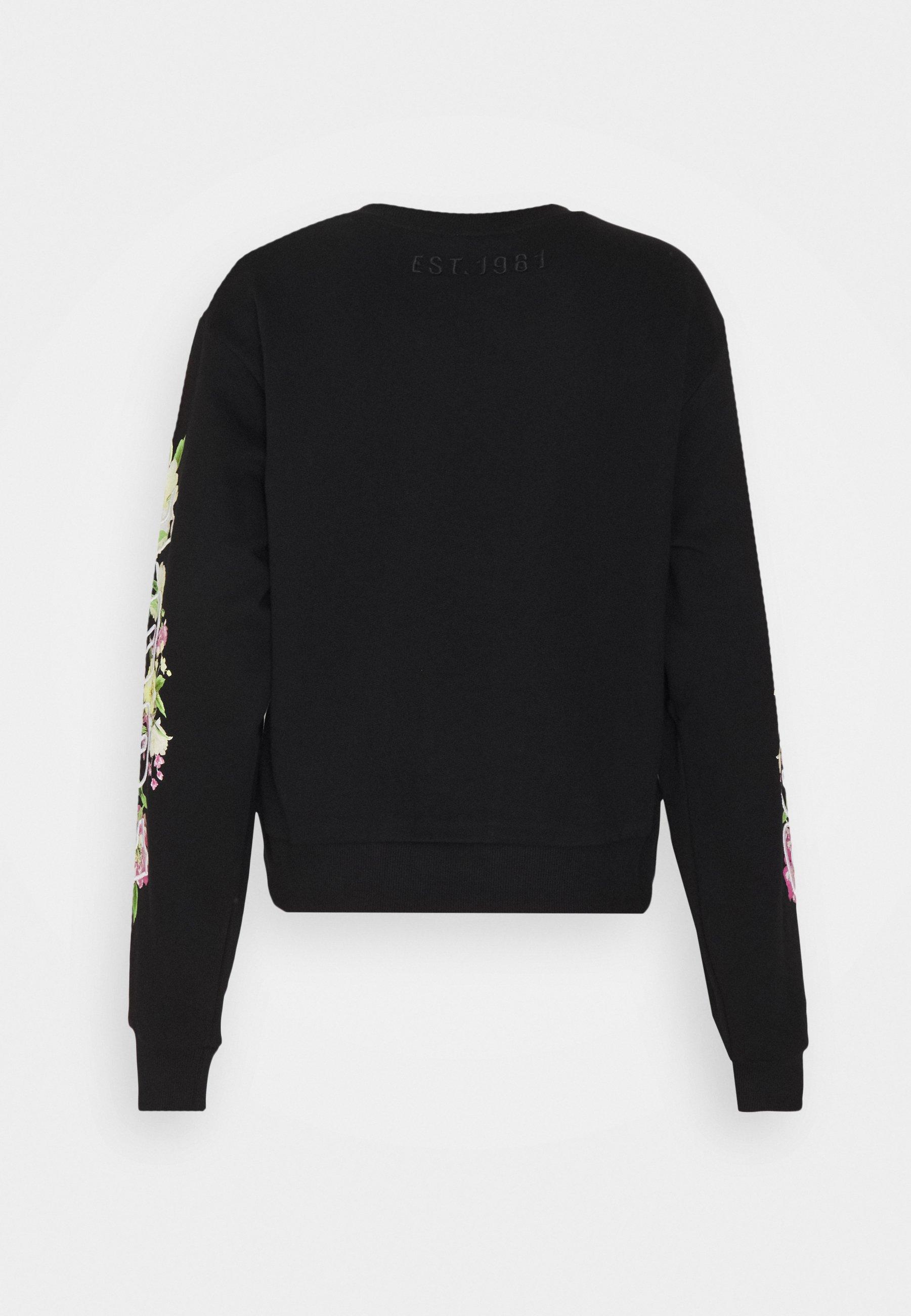 Guess SOREN - Sweatshirts - jet black -  qZbhb