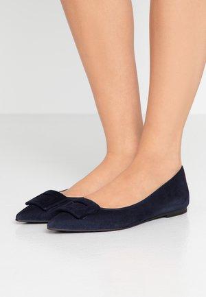 ANGELIS - Ballet pumps - navy blue