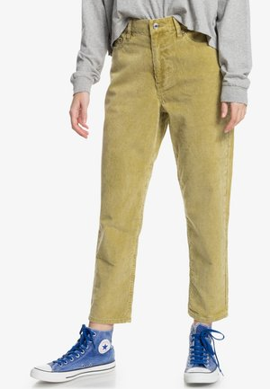 Straight leg jeans - spinach green