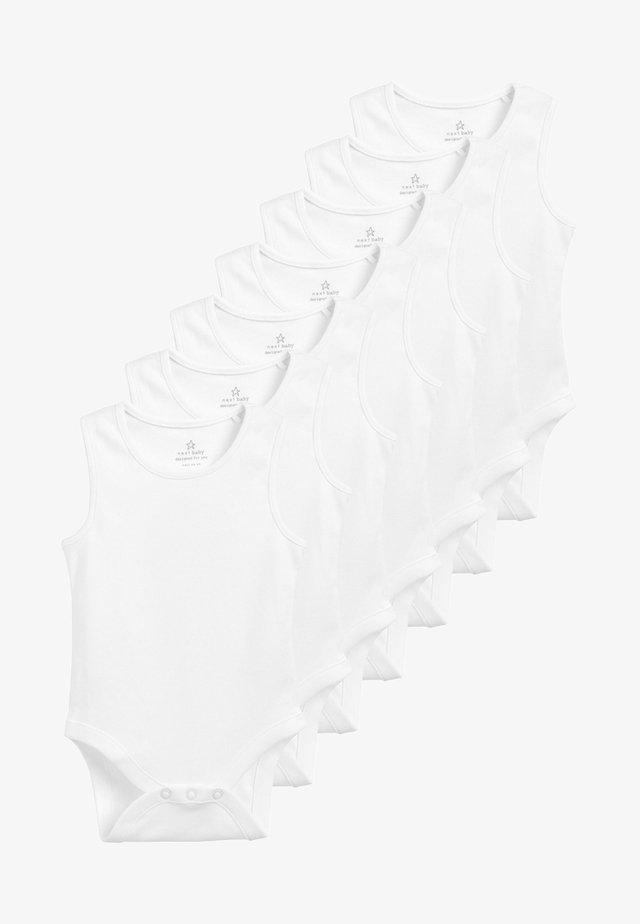 7 PACK - Body / Bodystockings - white