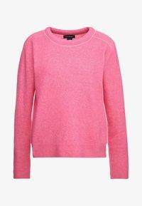 Club Monaco - BUBBLE CREWNECK - Jumper - bright pink - 4
