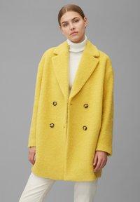 Marc O'Polo - Classic coat - mellow curry - 0