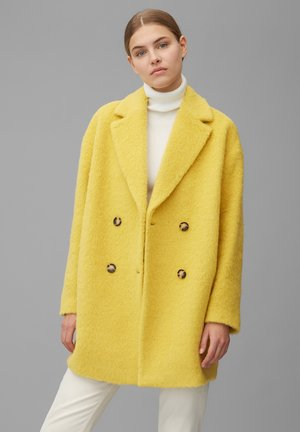 Classic coat - mellow curry