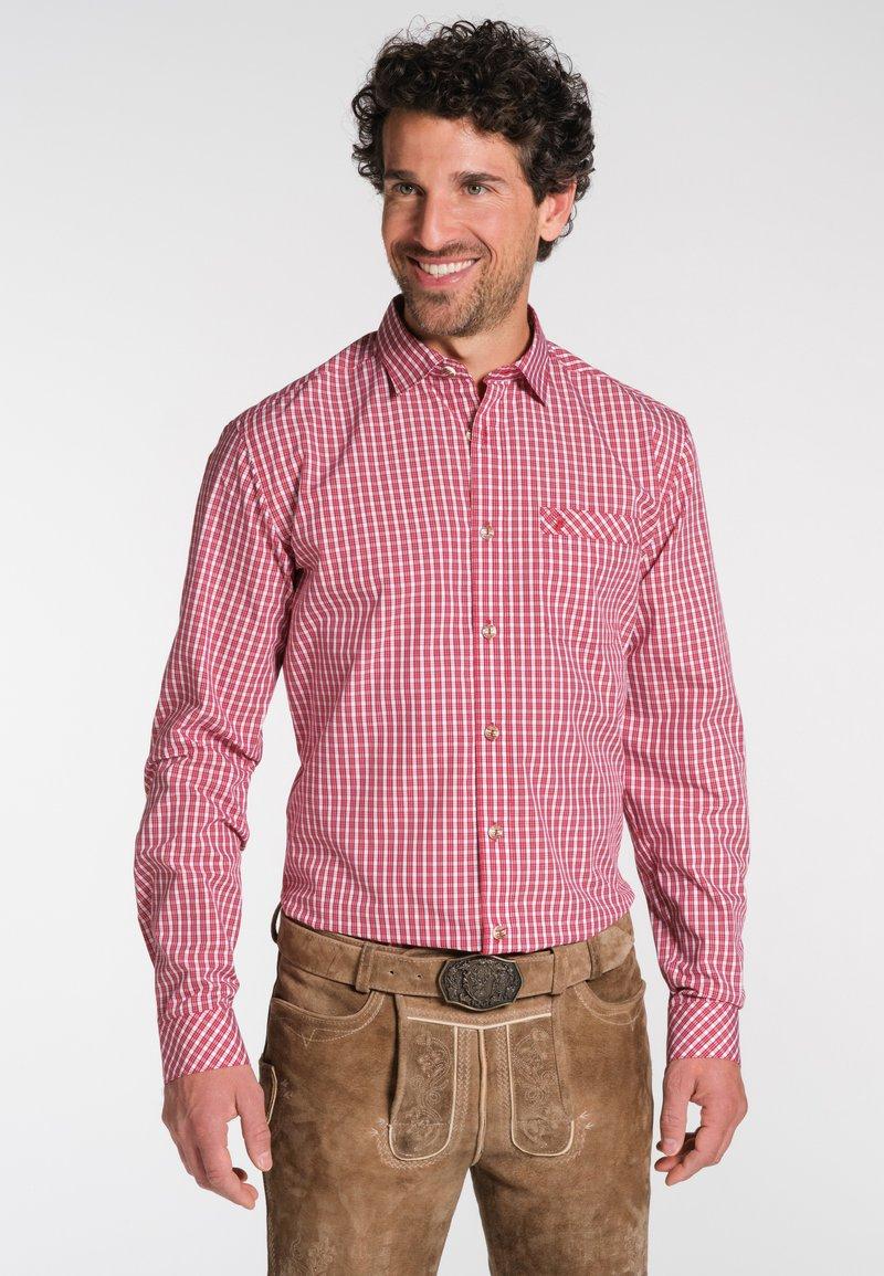 Spieth & Wensky - Shirt - red