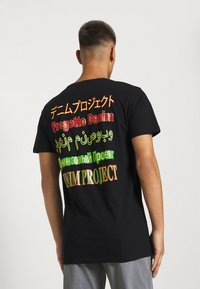 Denim Project - MOJO TEE - Print T-shirt - black - 3