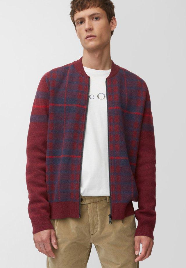 REGULAR FIT - Cardigan - red