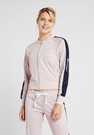 FULL ZIP SUIT - Tracksuit - pink