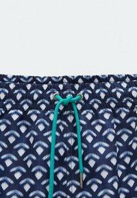 Massimo Dutti - Swimming shorts - blue black denim - 2