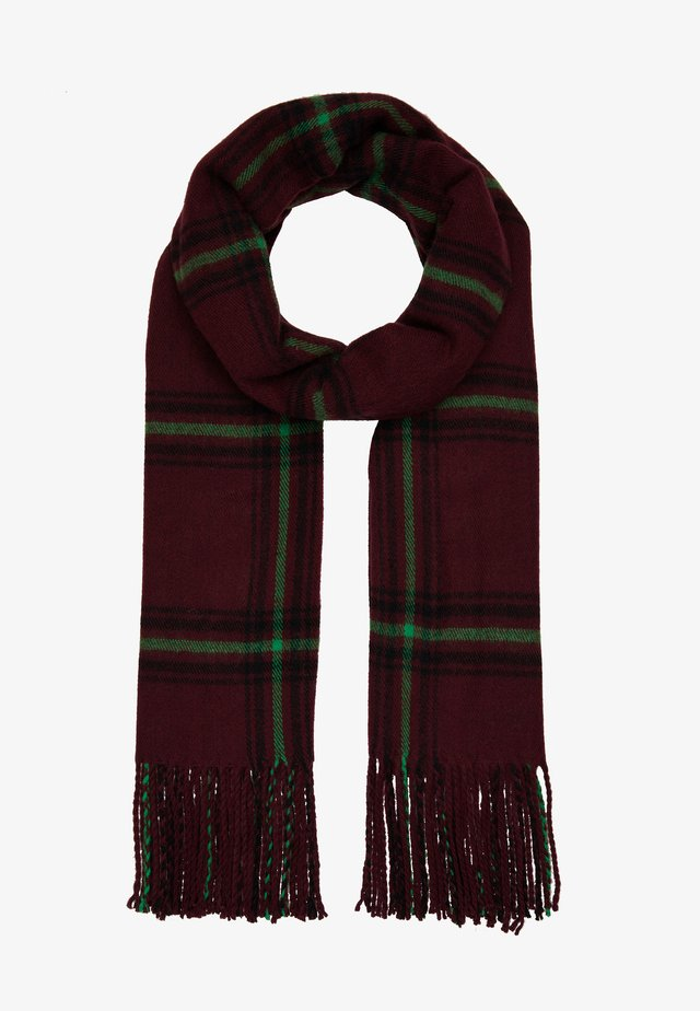 OBJMARILYN CHECK SCARF - Sjaal - port royale
