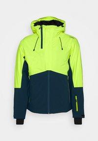 CMP - MAN JACKET FIX HOOD - Ski jacket - yellow fluo - 0