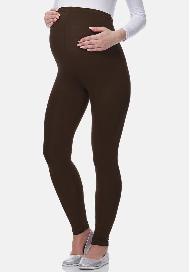 Leggings - Trousers - braun