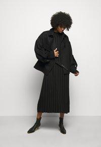 House of Dagmar - STINA - Jumper dress - black - 1