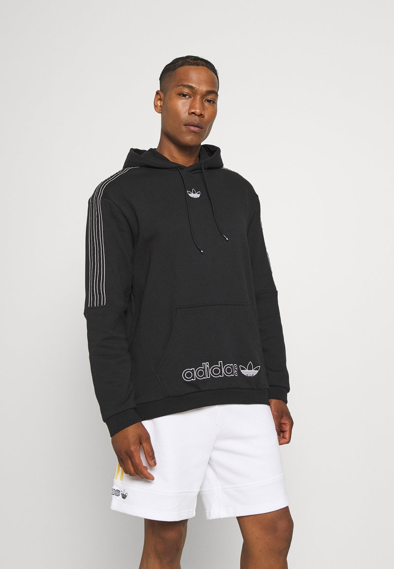 adidas Originals - UNISEX - Sweatshirt - black/chalk white