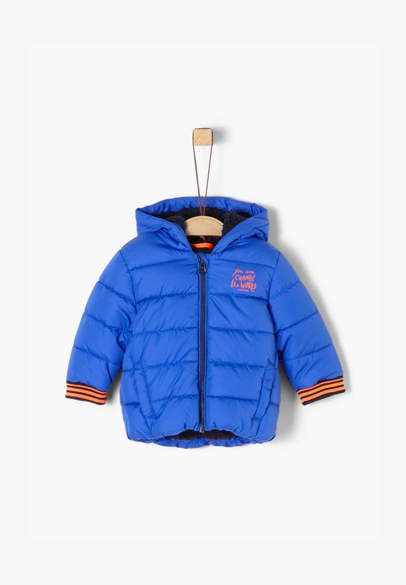 s.Oliver - Winter jacket - blue