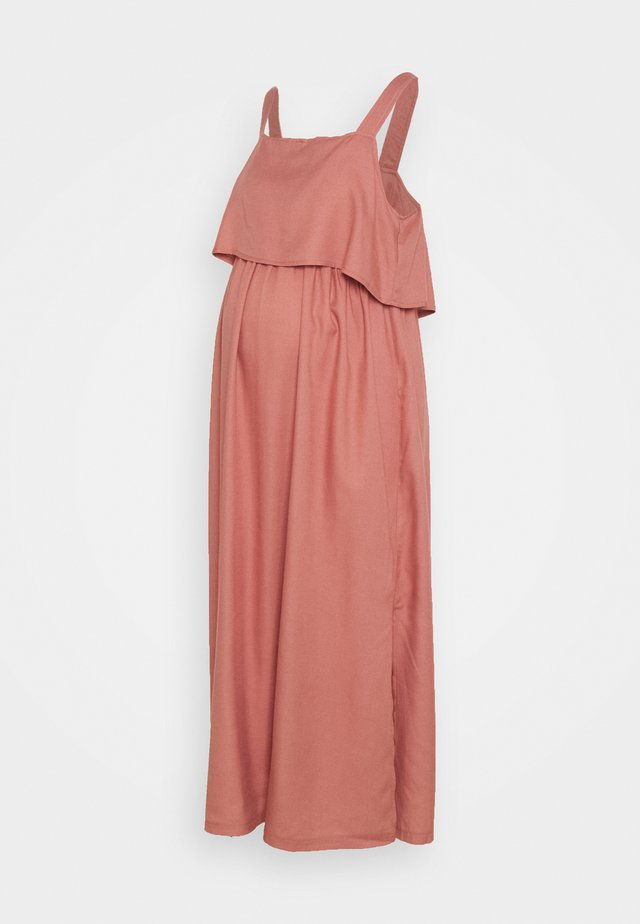 NURSING DRESS - Vestito estivo - dusty pink
