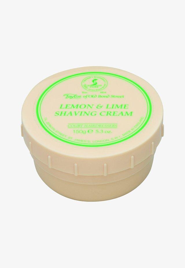 LEMON & LIME - Shaving cream - -