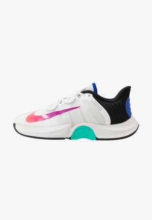 COURT AIR ZOOM TURBO - Multicourt Tennisschuh - summit white/white/black/electro green