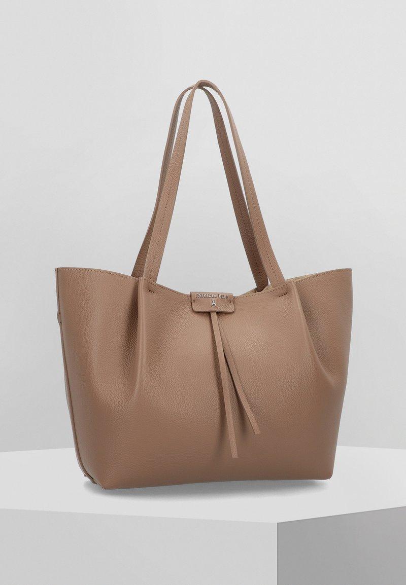 Patrizia Pepe - BORSA  - Tote bag - new taupe