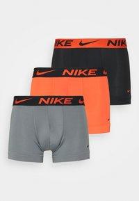 orange/cool grey/black