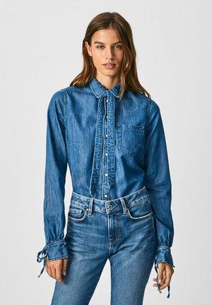 ESME - Button-down blouse - denim