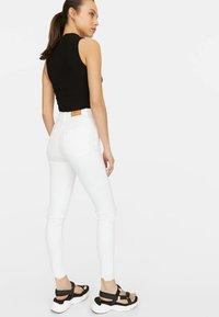 Stradivarius - Jeans Skinny Fit - white - 2