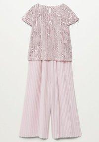 Mango - Kalhoty - rosa pastello - 1