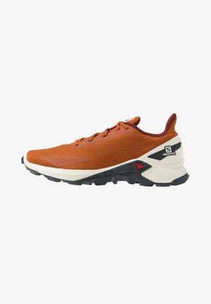 ALPHACROSS BLAST - Běžecké boty do terénu - umber/vanilla/ebony