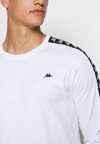 Kappa - HAIMO LONGSLEEVE - Long sleeved top - bright white - 5