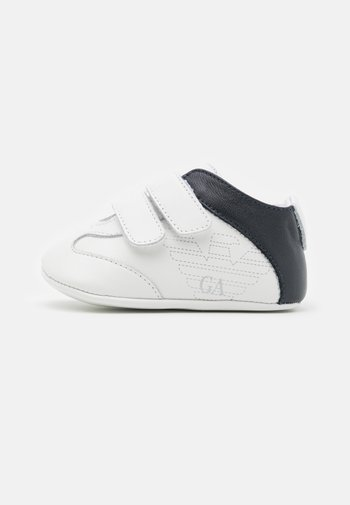 UNISEX - First shoes - white/black