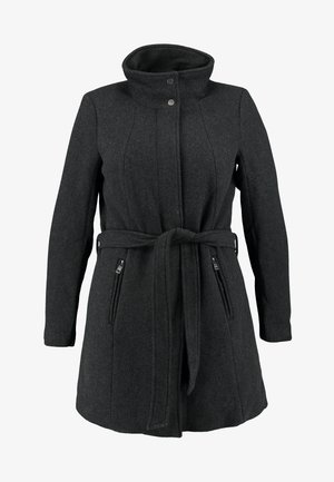 CARCHRISTIE RIANNA COAT - Kort kåpe / frakk - dark grey melange