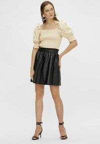 YAS - YASRORI - A-line skirt - black - 1