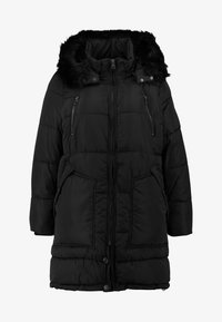 ONLY Carmakoma - CARRHODA WINTER COAT - Winter coat - black - 6